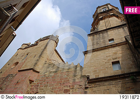 Free Getaria Church Stock Photography - 19311872