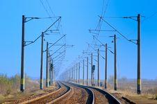 Free Railway Tracks Stock Image - 19311181