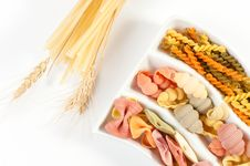 Free Different Kinds Of Italian Pasta Stock Photography - 19311212