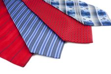 Free Some Multi-colored Man S Ties Royalty Free Stock Photos - 19311698