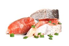 Free Raw Salmon Royalty Free Stock Photography - 19313347