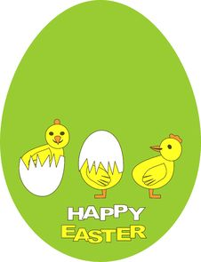 Free Happy Easter Royalty Free Stock Photos - 19313678