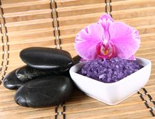 Free Spa Salt And Spa Stones Stock Photos - 19313903