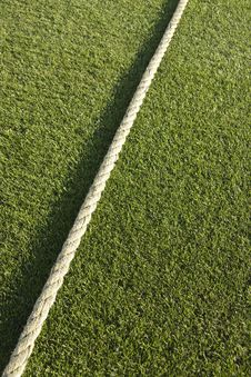 Free Cricket Boundary Rope Stock Image - 19314801