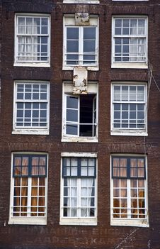 Free Holland House With Window Stock Photos - 19315603