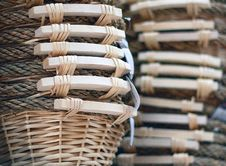 Free Wicker Basket Royalty Free Stock Images - 19316179