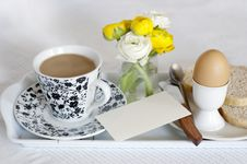Breakfast For Mother Day Royalty Free Stock Photos