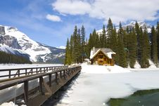 Free Emerald Lake, Canadian Rockies Royalty Free Stock Photography - 19318007