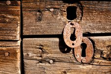 Free Key-hole. Royalty Free Stock Photography - 19318557