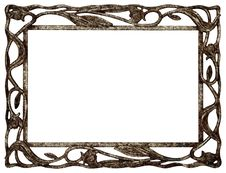 Free Frame Of Rusty Isolated Royalty Free Stock Image - 19319216