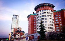 Multi-storey Apartment Building Stock Photos