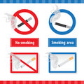 Free Smoking Signs Royalty Free Stock Photos - 19321668