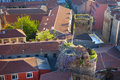 Free Picturesque Old Town Aerial View Stock Photos - 19322133