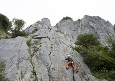 Free Rock Climber Royalty Free Stock Photography - 19320457