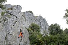 Free Rock Climber Stock Photography - 19320472