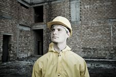 Free Portrait Of Confident Construction Worker Royalty Free Stock Photos - 19320948