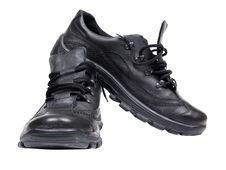 Free Black Shoes Stock Photography - 19321132