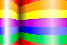 Free Rainbow Background Royalty Free Stock Image - 19321776