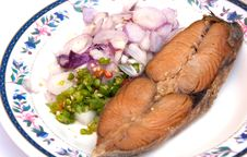 Free Fried Fish Thai Style Food Stock Photography - 19321942