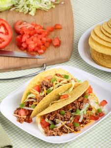 Free Two Tacos Stock Photography - 19321962
