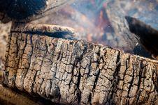 Free Burning Wood Royalty Free Stock Images - 19322899