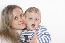 Free Mother And Son Royalty Free Stock Photography - 19323007