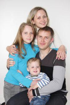 Free Studio Family Portrait Stock Photos - 19323043