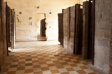Tuol Sleng Prison Phnom Penh Royalty Free Stock Images