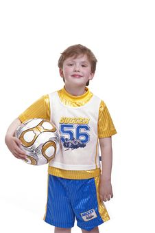 Free Child With The Football Stock Image - 19323711