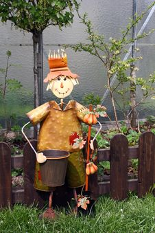 Free Scarecrow Royalty Free Stock Photo - 19324005