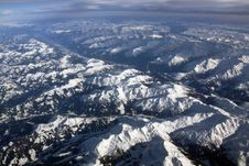 Free Mountains From The Plane Stock Image - 19324181