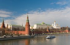Free Kremlin. Heart Of Russia Stock Photography - 19324632