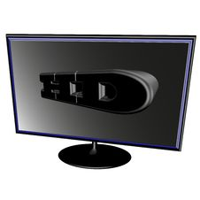 Free Black LCD Stock Images - 19324654