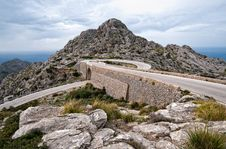 Free Hairpin Bend Curve Sa Calobra Majorca Royalty Free Stock Photo - 19325225