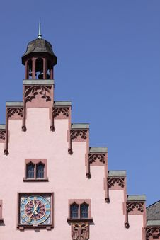 Free Old Town Hall Detail In Frankfurt Royalty Free Stock Images - 19325759