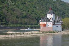 Pfalz Castle Stock Images