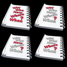 Free 3D - Note With Text Royalty Free Stock Images - 19326339