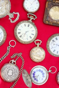Free Pocket Watch Royalty Free Stock Photo - 19326855