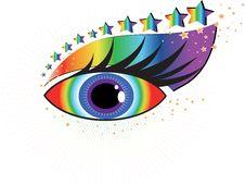 Free Beautiful Human Eye Royalty Free Stock Photography - 19326987