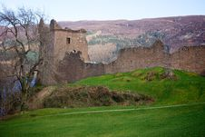 Free Urqhart Castle Ruins Stock Photography - 19328252