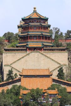 Free The Foxiangge Of Summer Palace Royalty Free Stock Photography - 19328827