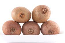 Free Kiwi Fruit Set Stock Photos - 19329893