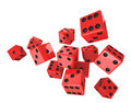 Free Red Dice Stock Photos - 19332193