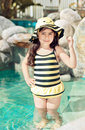 Free Bumble Bee Swim Suit Stock Images - 19334684