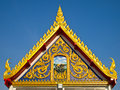 Free Gable Church Of Buddhism Stock Image - 19337951