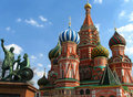 Free Monument And Saint Basil S Cathedral. Stock Image - 19338731