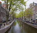 Free Canal In Amsterdam Royalty Free Stock Photography - 19339387