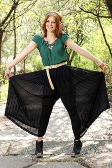 Free Look At My Pants! Stock Image - 19330671