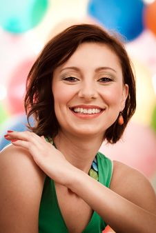 Lovely Smile Royalty Free Stock Images