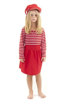 Free Confused Little Girl Stock Photography - 19331692